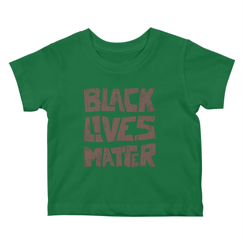 Black lives matter Kids Baby T-Shirt by YANMOS