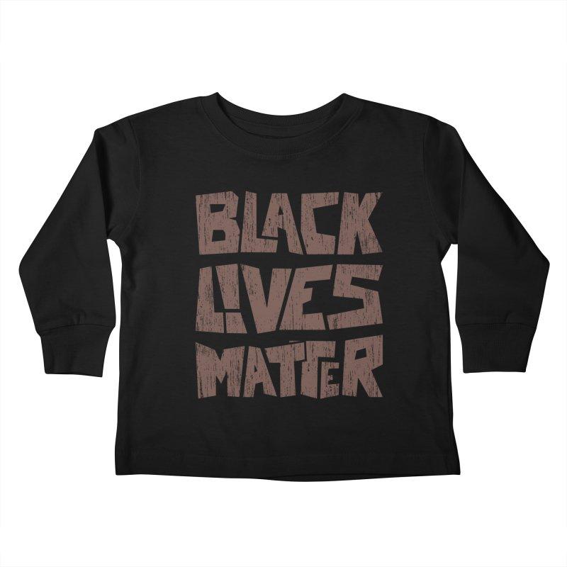 Black lives matter Kids Toddler Longsleeve T-Shirt by YANMOS