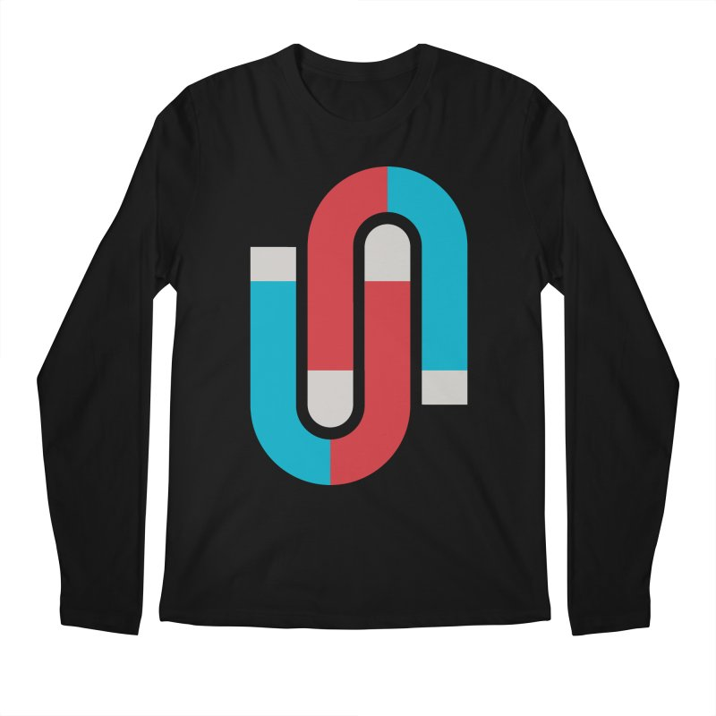 Magnetize Men's Longsleeve T-Shirt by Yanmos's Artist Shop
