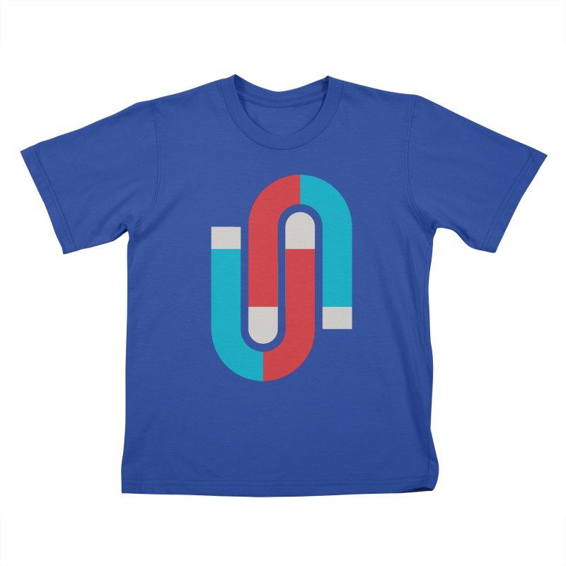 Magnetize Kids T-shirt by Yanmos's Artist Shop