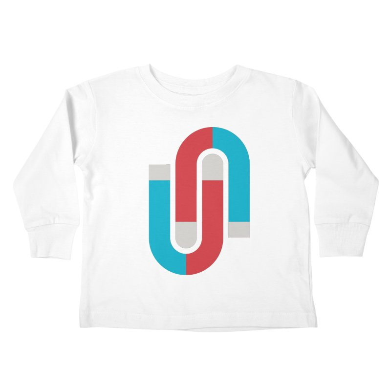 Magnetize Kids Toddler Longsleeve T-Shirt by Yanmos's Artist Shop