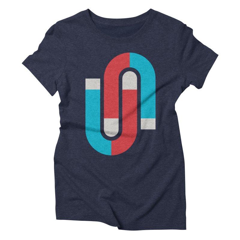 Magnetize Women's Triblend T-shirt by Yanmos's Artist Shop