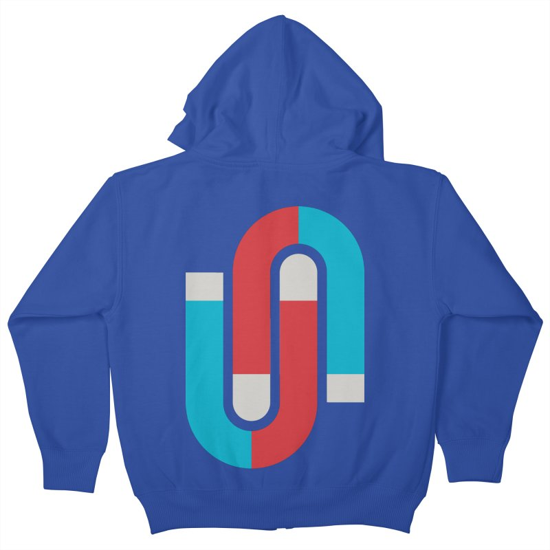 Magnetize Kids Zip-Up Hoody by Yanmos's Artist Shop