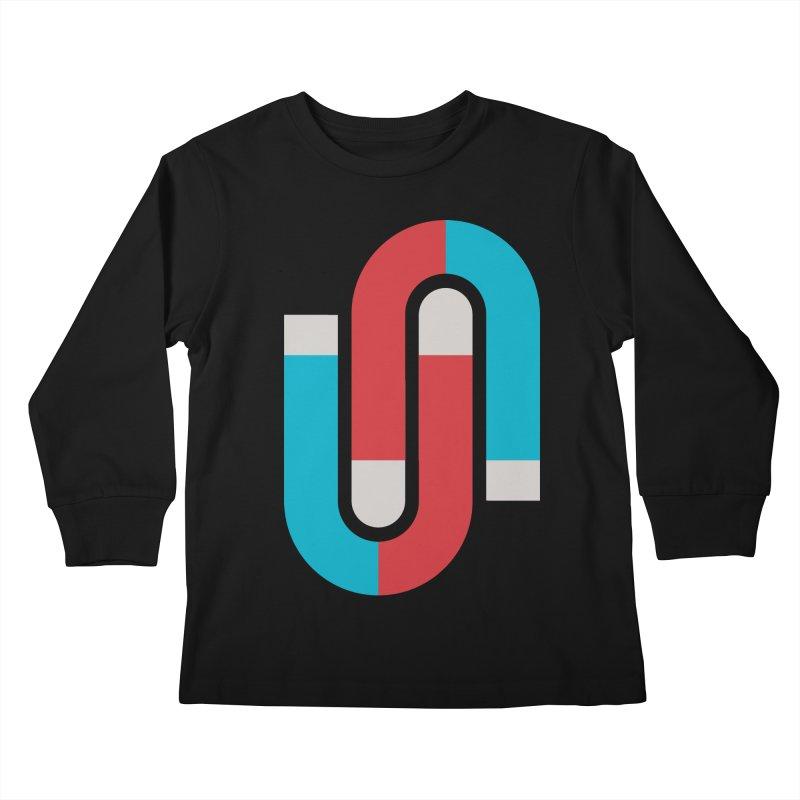 Magnetize Kids Longsleeve T-Shirt by Yanmos's Artist Shop