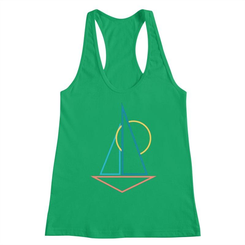 Summer sailing Women's Tank by YANMOS