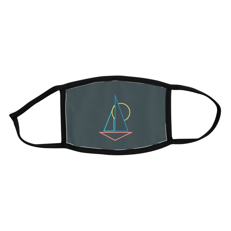 Summer sailing Accessories Face Mask by YANMOS