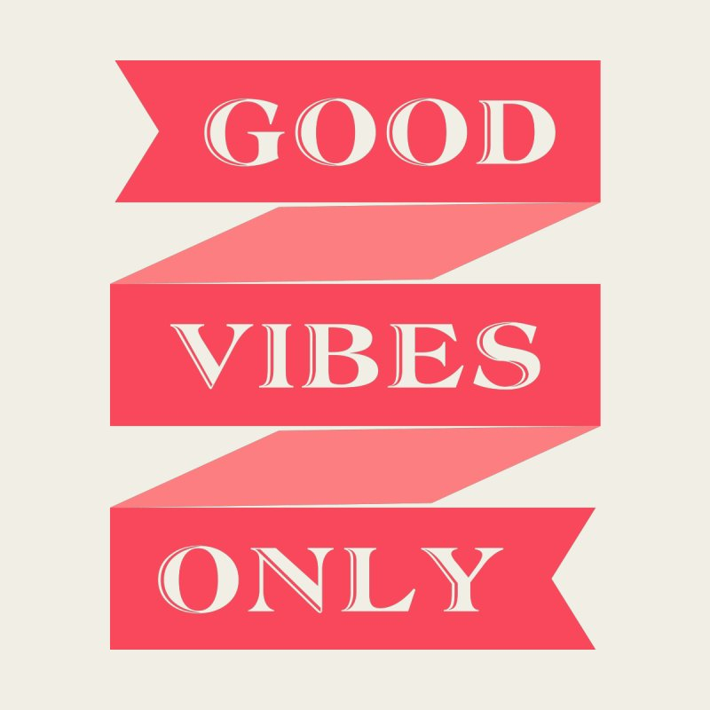Good vibes Accessories Face Mask by YANMOS