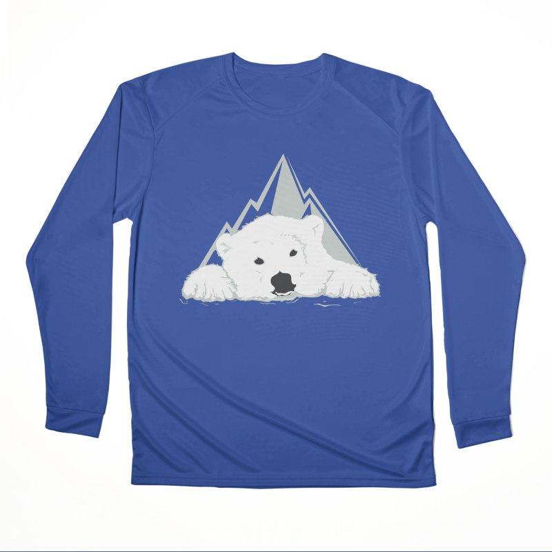 Melting Polar bear Women's Longsleeve T-Shirt by YANMOS