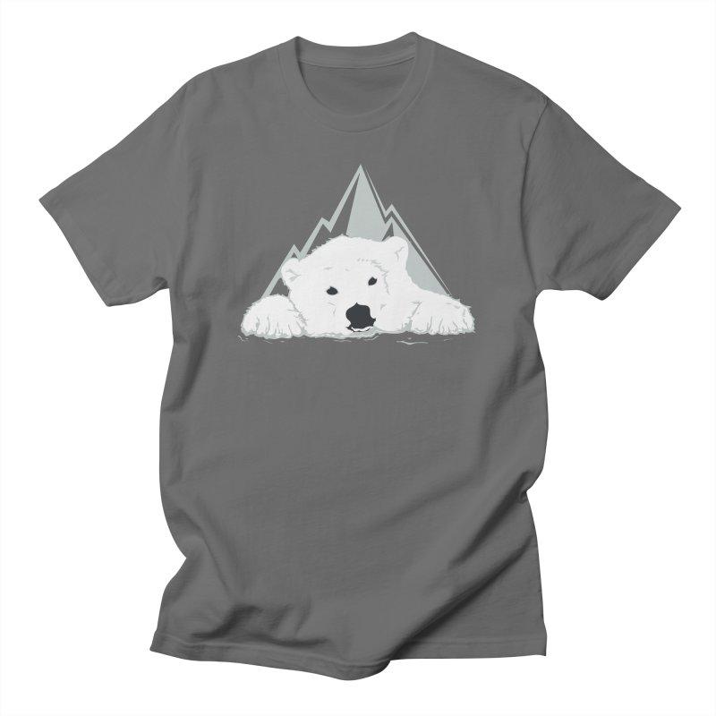 Melting Polar bear Men's T-Shirt by YANMOS