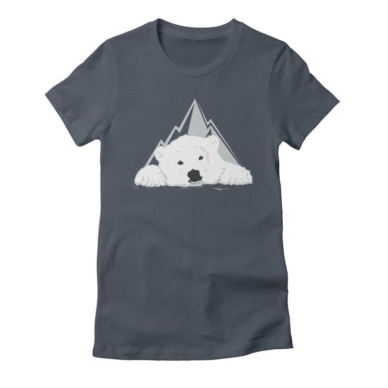 Melting Polar bear Women's T-Shirt by YANMOS