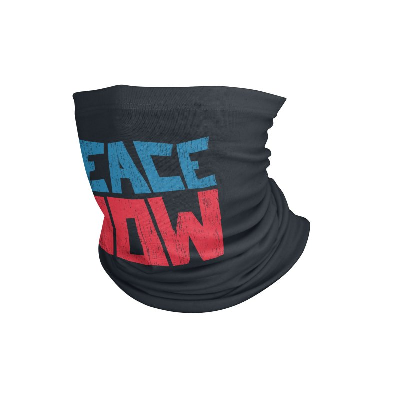 Peace Now Accessories Neck Gaiter by YANMOS