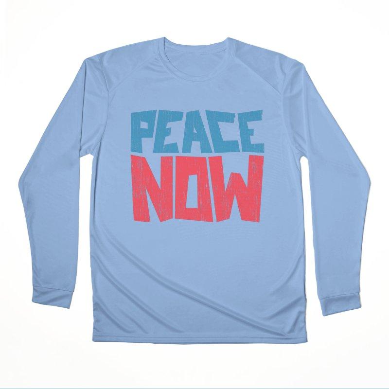 Peace Now Women's Longsleeve T-Shirt by YANMOS