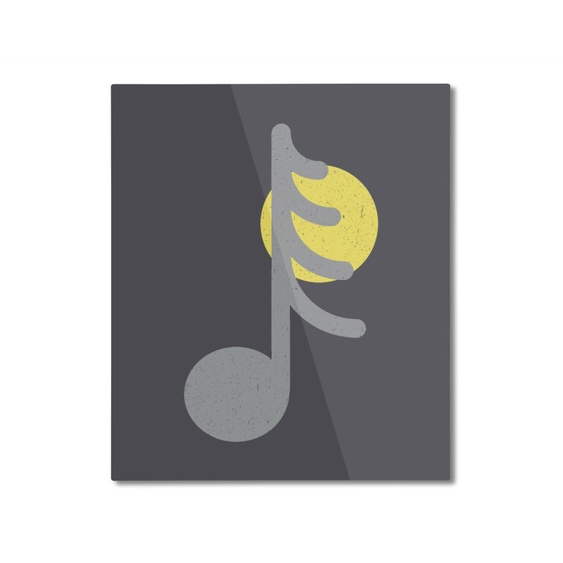 Natural sound Home Mounted Aluminum Print by YANMOS
