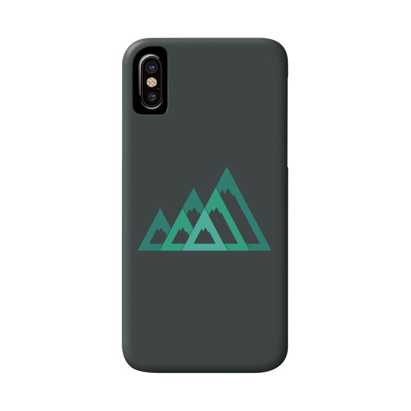 Mountains Accessories Phone Case by YANMOS