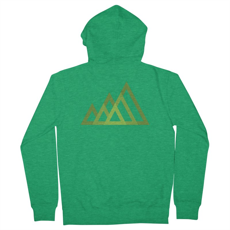 Mountains Men's Zip-Up Hoody by Yanmos's Artist Shop