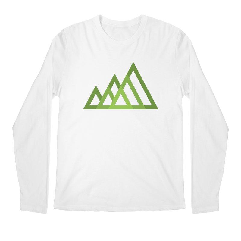 Mountains Men's Longsleeve T-Shirt by Yanmos's Artist Shop