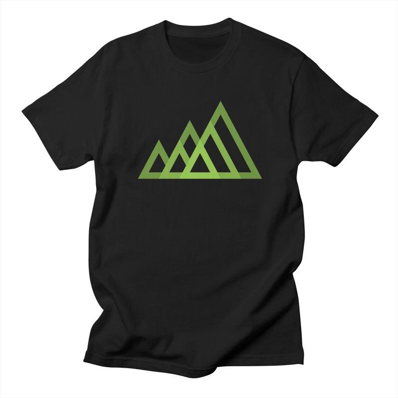Mountains Men's T-shirt by Yanmos's Artist Shop