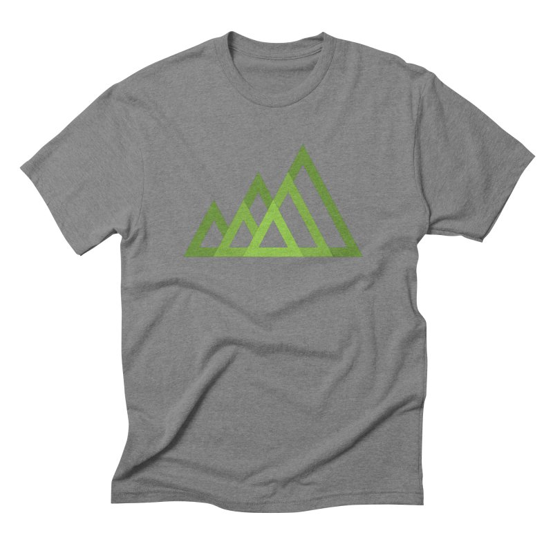 Mountains Men's Triblend T-shirt by Yanmos's Artist Shop