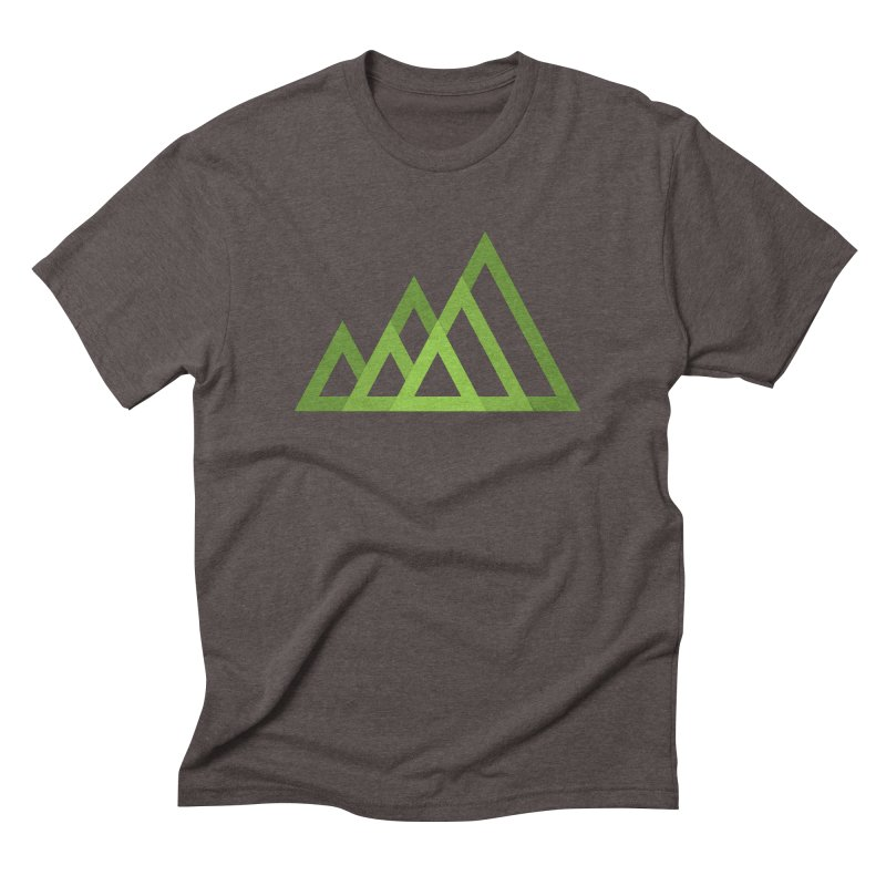 Mountains Men's Triblend T-Shirt by YANMOS
