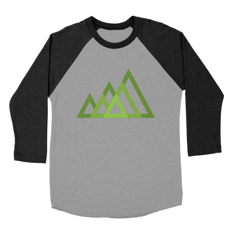 Mountains Women's Baseball Triblend T-Shirt by Yanmos's Artist Shop