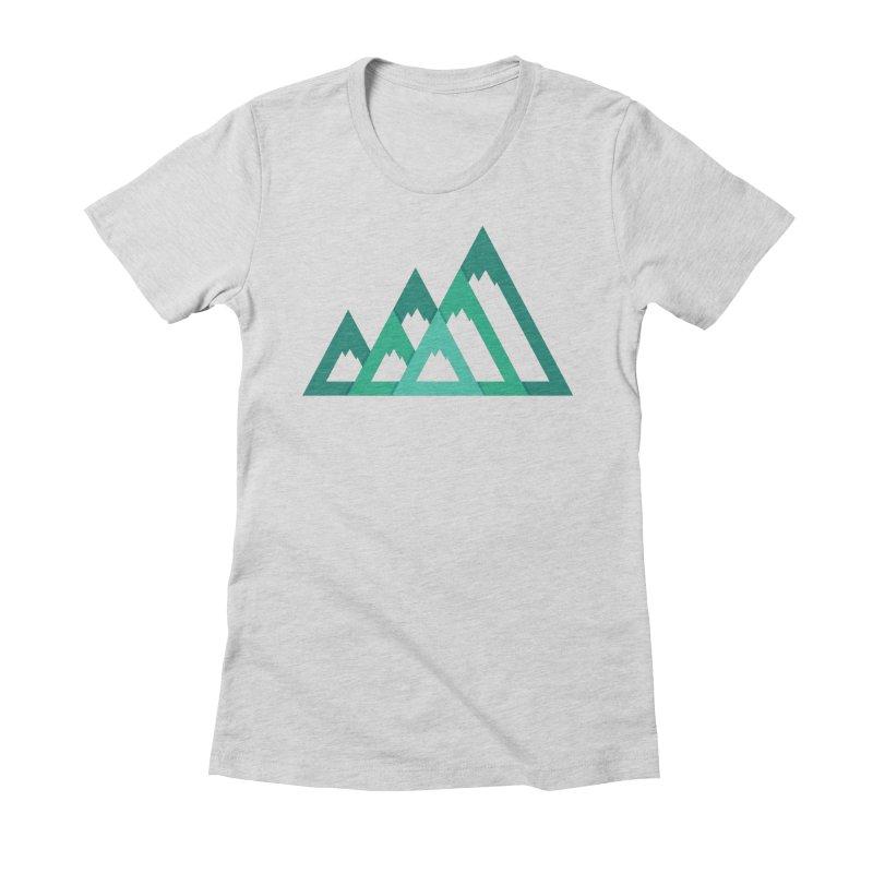 Mountains Women's T-Shirt by YANMOS
