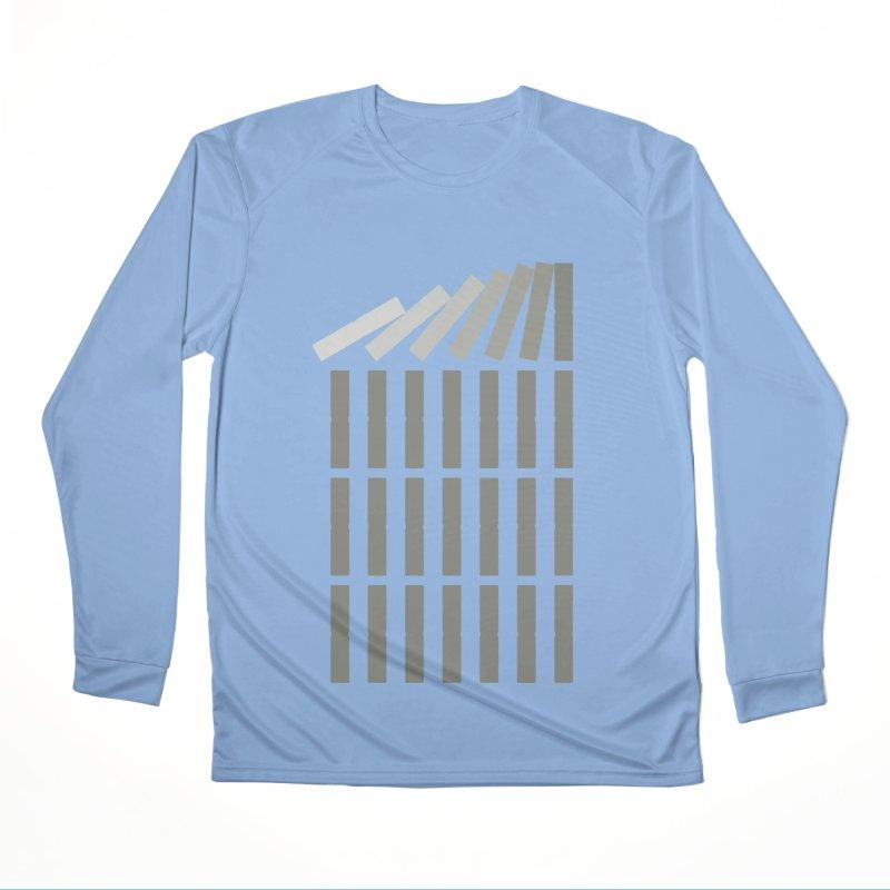 Domino effect Women's Longsleeve T-Shirt by YANMOS
