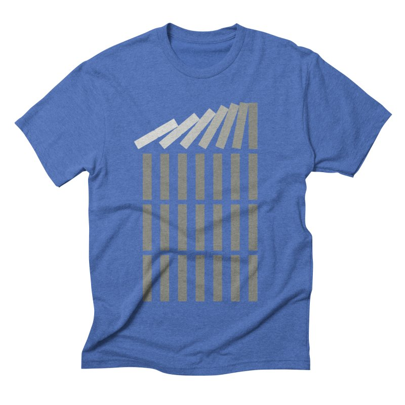 Domino effect Men's T-Shirt by YANMOS