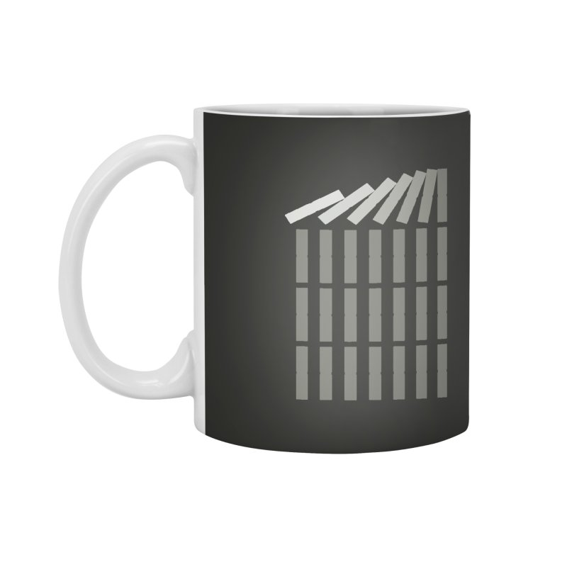 Domino effect Accessories Mug by YANMOS