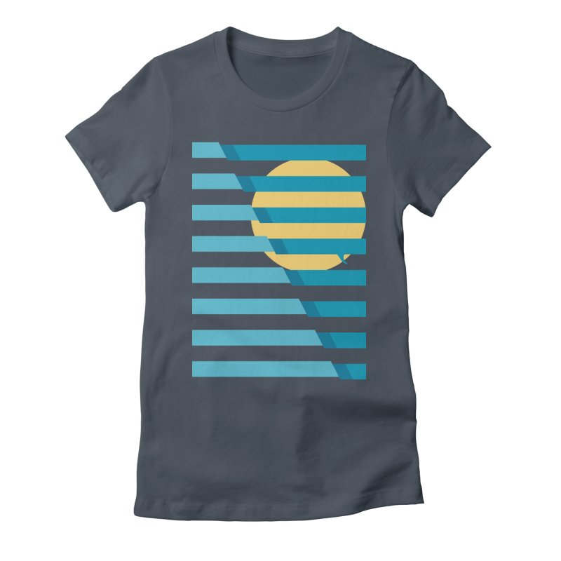 Shark surfer Women's T-Shirt by YANMOS