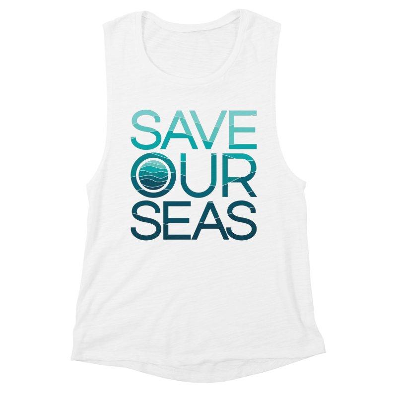 Save Our Seas Women's Tank by YANMOS