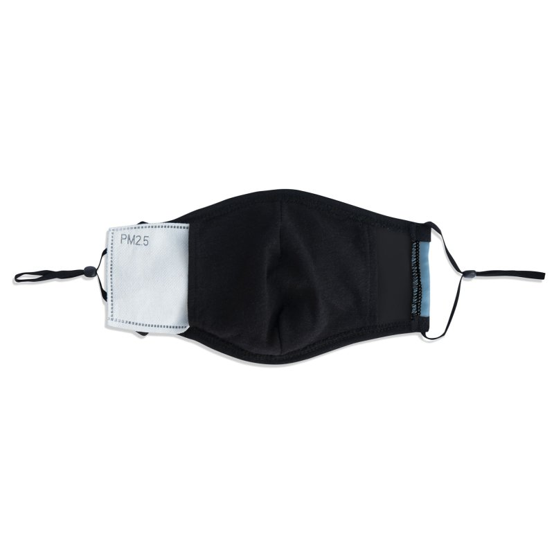 Swimming through plastic Accessories Face Mask by YANMOS