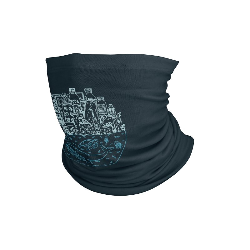 Pacific garbage Accessories Neck Gaiter by YANMOS