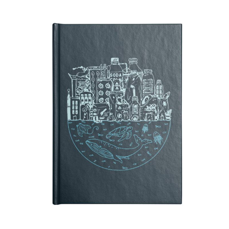 Pacific garbage Accessories Notebook by YANMOS