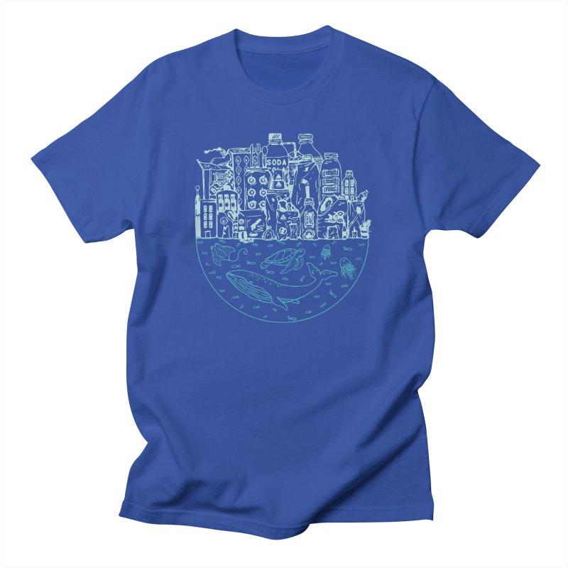 Pacific garbage Men's T-Shirt by YANMOS