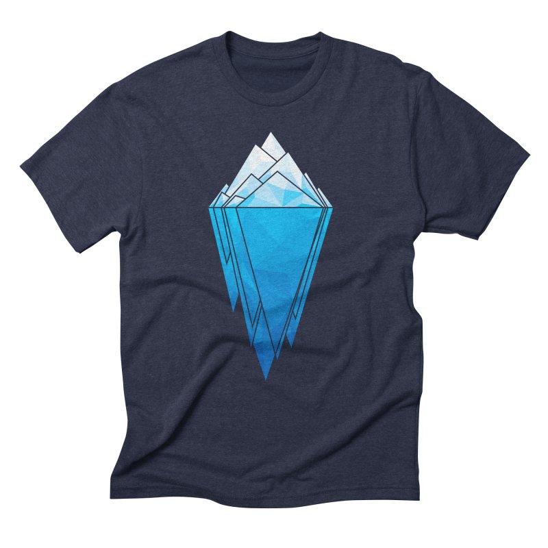 Antarctica in Men's Triblend T-Shirt Navy by YANMOS