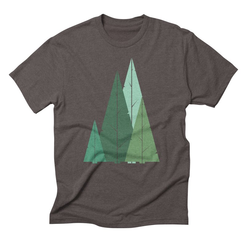 Cypress greens Men's T-Shirt by YANMOS