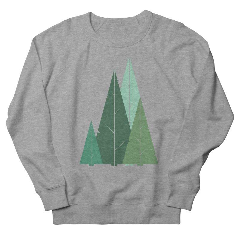 Cypress greens Women's Sweatshirt by YANMOS