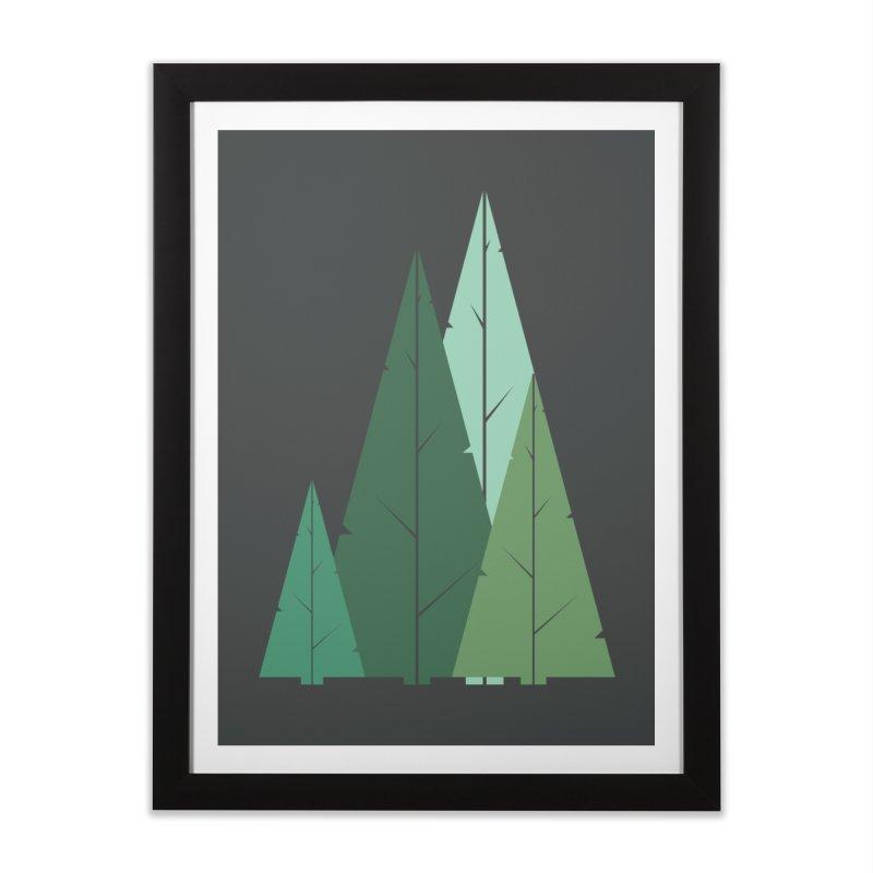 Cypress greens Home Framed Fine Art Print by YANMOS