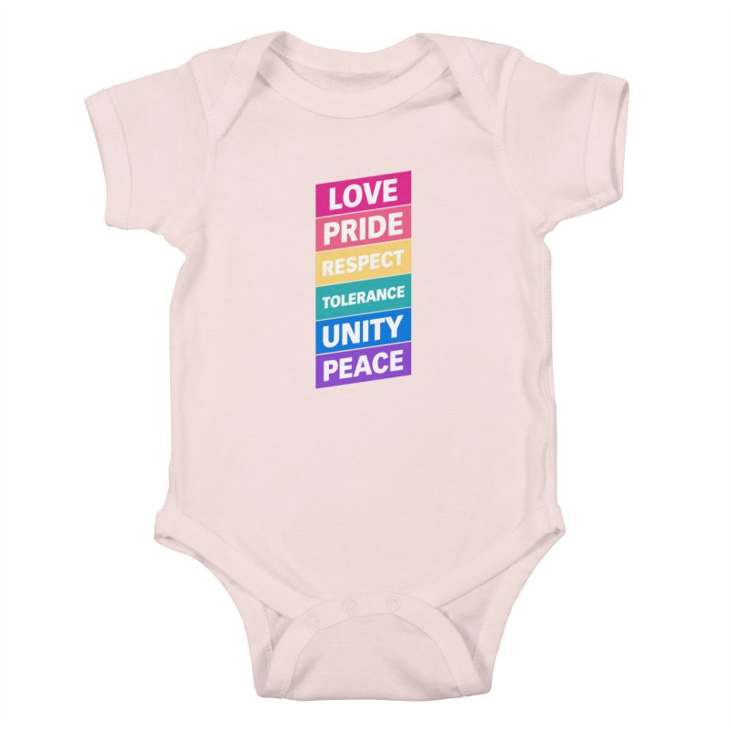 Six Words Kids Baby Bodysuit by YANMOS