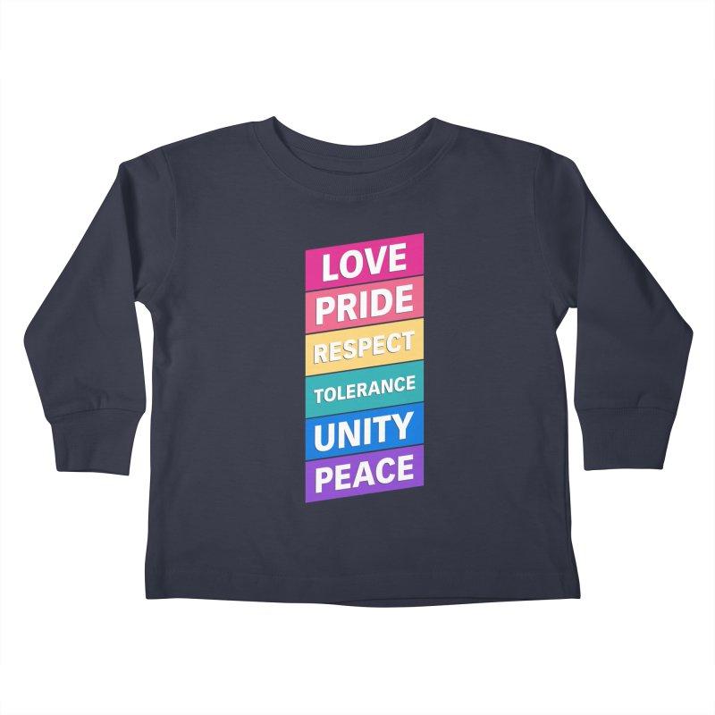 Six Words Kids Toddler Longsleeve T-Shirt by YANMOS