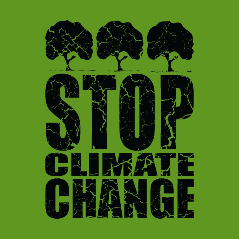 Stop Climate Change Men's T-Shirt by YANMOS