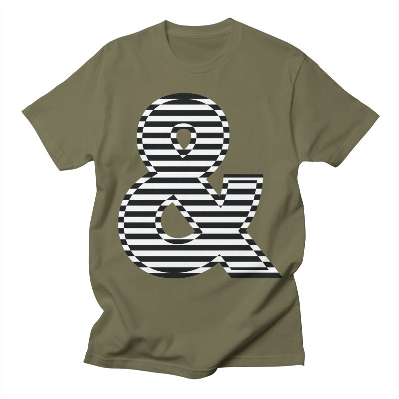 The Ampersand Men's T-Shirt by YANMOS
