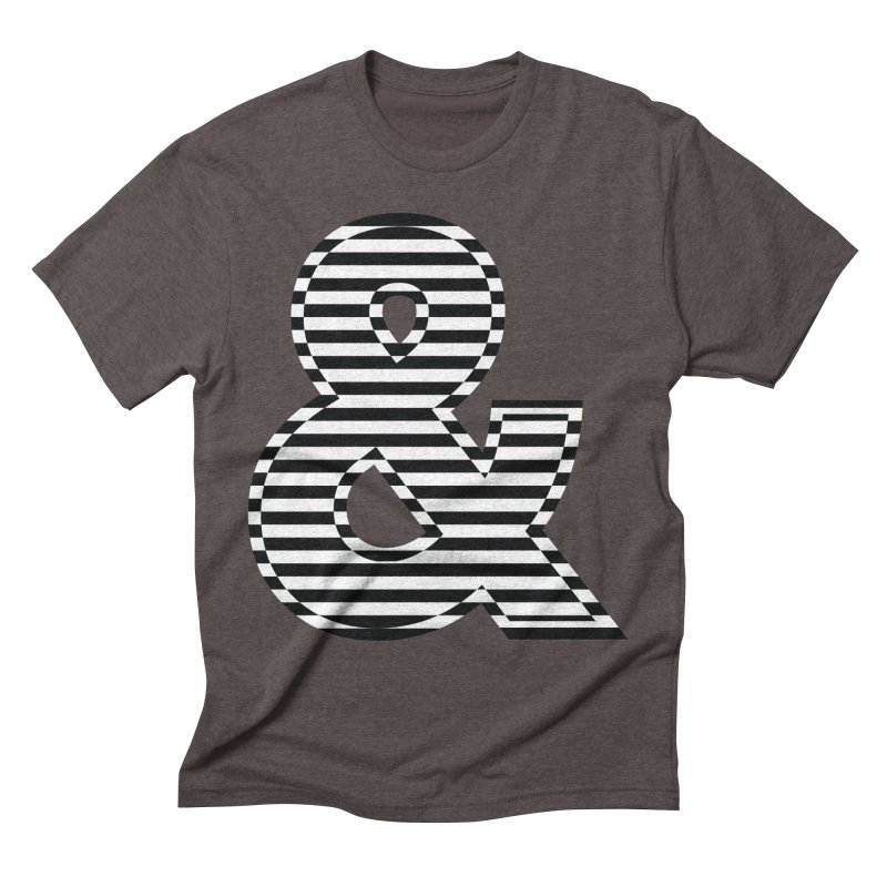 The Ampersand Men's Triblend T-Shirt by YANMOS