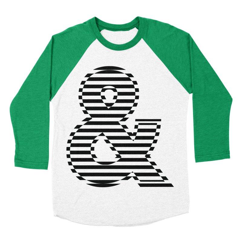The Ampersand Women's Baseball Triblend T-Shirt by YANMOS