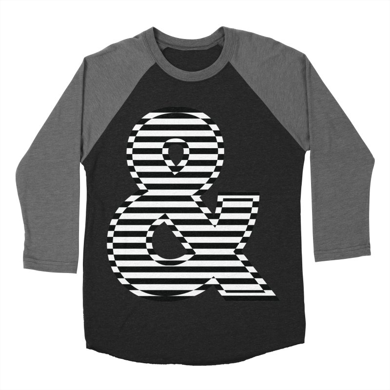 The Ampersand Men's Baseball Triblend T-Shirt by YANMOS