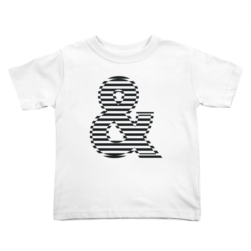 The Ampersand Kids Toddler T-Shirt by YANMOS