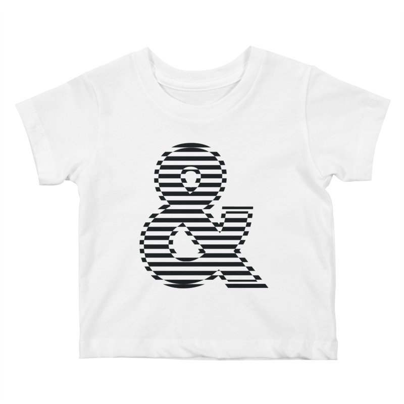 The Ampersand Kids Baby T-Shirt by YANMOS