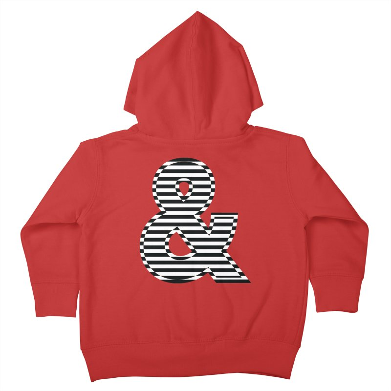 The Ampersand Kids Toddler Zip-Up Hoody by YANMOS