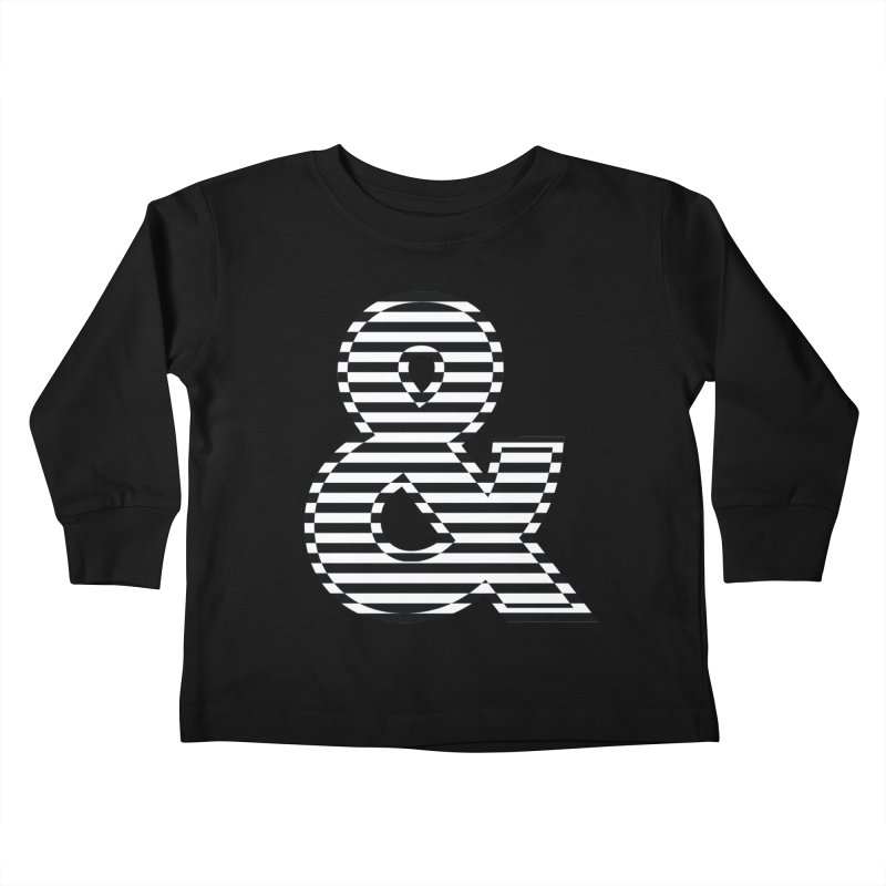 The Ampersand Kids Toddler Longsleeve T-Shirt by YANMOS