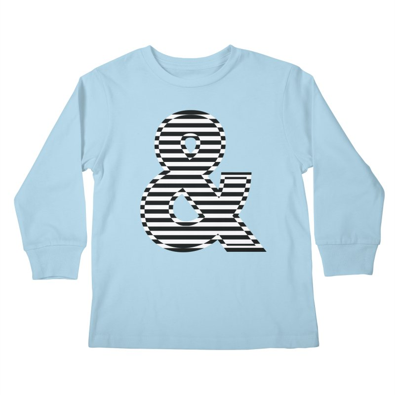The Ampersand Kids Longsleeve T-Shirt by YANMOS